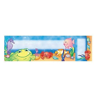 North Star Teacher Resources® Seat and Cubby Sign, Under The Sea