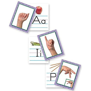 North Star Teacher Resources Ns9082 American Sign Language Alphabet Card (NST9082)