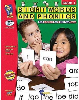 Sight Words & Phonics Book 1, Grades JK-1