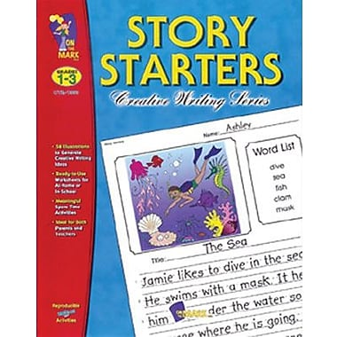 On The Mark Press® Story Starters Book, Grades 1st - 3rd