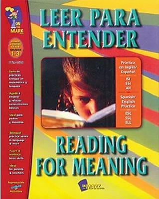 Leer Para Entender / Reading For Meaning