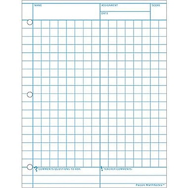 "Pacon® Mathnotes® Graph Paper, 11"" X 8 1/2"" 