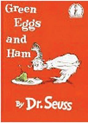Random House Green Eggs and Ham (Hardcover) Book, 2 EA/BD