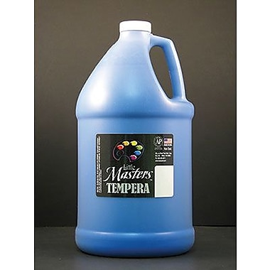 Little Masters Non-toxic 128 Oz. Tempera Paint, Blue (rpc204730)