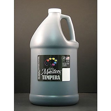 Little Masters Non-Toxic 128 Oz. Tempera Paint, Black (rpc204755)
