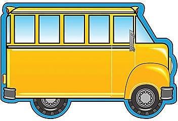 Shapes Etc Notepads, Large, School Bus
