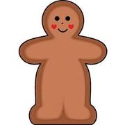 "Shapes Etc 3"" x 3"" Mini Notepad, Gingerbread Man"