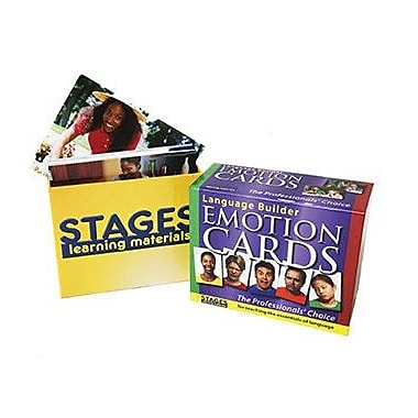 Stages Learning Materials Emotions Language Builder Cards (SLM003)