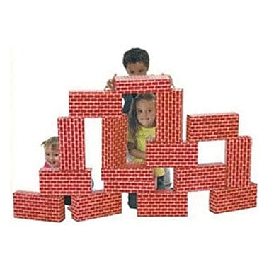 Smart Monkey® Giant Building Block Set, 16 Pieces/Set