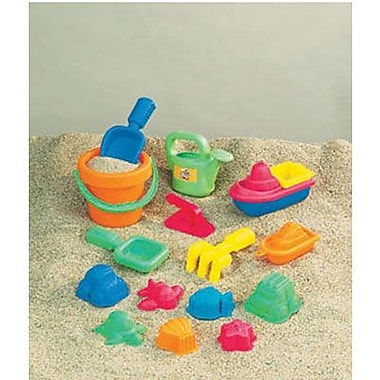 Small World Toys Toddler Sand Assortment, 15/Pack (SWT4830311)