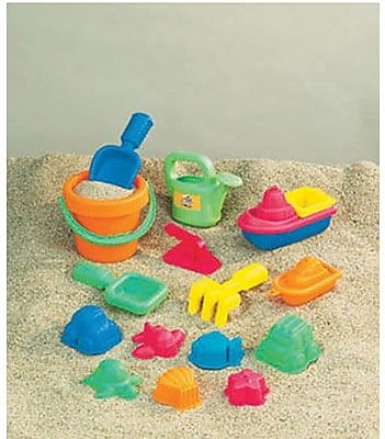 Small World Toys Sand & Water, 15-Piece Toddler Assortment