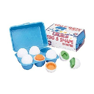 Small World Toys® Egg and Shape Sorter Ball, 2 3/4