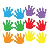"TREND T-10831 3"" DieCut Handprints Mini Accents, Multicolor"