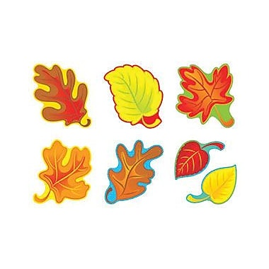 Trend Enterprises® Pre-kindergarten - 9th Grades Classic Accents, Fall Leaves