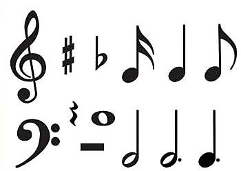 Trend® Classic Accents® Variety Packs, Music Symbols