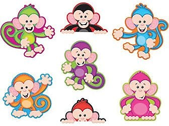 Trend® Classic Accents® Variety Packs, Color Monkeys