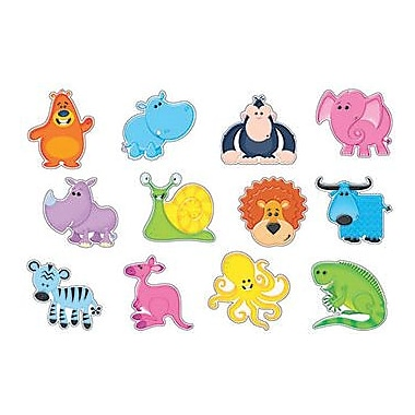 Trend Enterprises® Pre Kindergarten - 3th Grades Classic Accents®, Awesome Animals