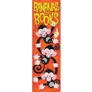 Trend Enterprises® Bananas For Books Bookmark, Grades K - 6th