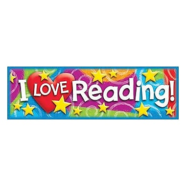Trend® Bookmarks, I Love Reading
