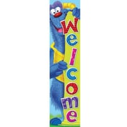TREND T-25060 5' Straight Welcome Furry Friends Quotable Expressions Banner, Multicolor