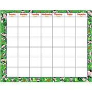 Trend Enterprises® Wipe-Off Monthly Calendar, Monkey Mischief®