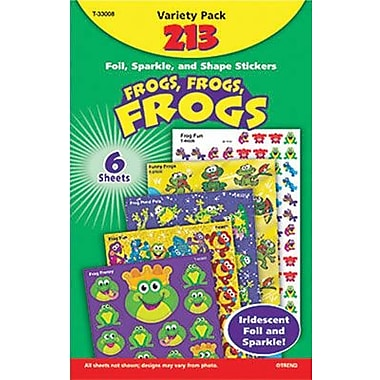Trend Enterprises® Stickers, Frogs