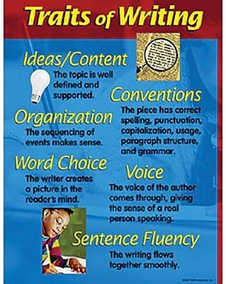 Trend Enterprises® Traits of Writing Learning Chart