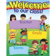 Trend Enterprises® Welcome Trend Kid's Learning Chart