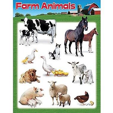 Trend Enterprises® Farm Animals Learning Chart