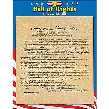 Trend Enterprises® Bill of Rights Learning Chart, 10/Pack