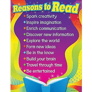 Trend Enterprises® Reasons To Read Learning Chart