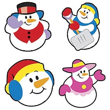 Trend Enterprises® SuperShapes Stickers, Super Snow Friends