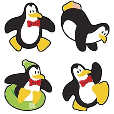 Trend® superShapes Stickers, Perky Penguins