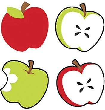 Trend superShapes Stickers, Tasty Apples