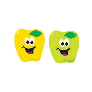 Trend Enterprises® SuperShapes Stickers, Happy Apples