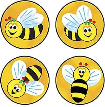 Trend® superSpots® Stickers, Bees Buzz