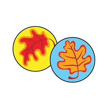Trend Enterprises® SuperSpots® Stickers, Fall Leaves