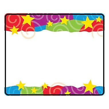 Trend Enterprises Pre Kindergarten - 9th Grades Name Tag, Stars n Swirls, 288/Pack (T-68070)