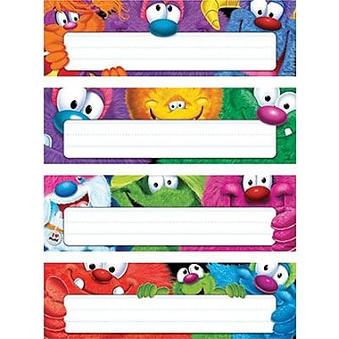 Trend® Desk Toppers® Name Plates, Furry Friends™, Variety Pack
