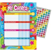 Trend Learning Charts, Praise Words 'n Stars Chore/Progress Charts