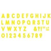 "Trend Enterprises® Ready Billboard Uppercase Letter, 7"", Yellow"