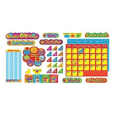 Trend Enterprises Bulletin Board Set, Classic Calendar Duo, 98/Set
