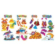 Trend Enterprises® Furry Friends™ Bulletin Board Set, Seasons