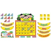 Trend Enterprises® Monkey Mischief® Bulletin Board Set, Calendar