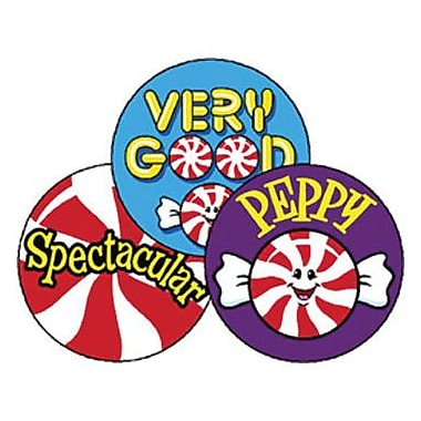 Trend® Stinky Stickers®, Large Round, Peppy Peppermints Scented Peppermint