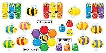 Trend® Mini Bulletin Board Sets, Color Bees