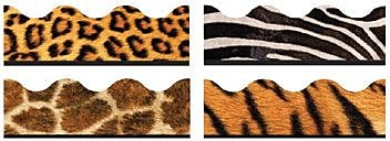 Trend® Terrific Trimmers® Variety Pack, Animal Prints