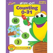 Trend® Wipe-Off® Book, Counting 0-31