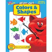 Trend Enterprises® Wipe -Off® Colors and Shapes Book