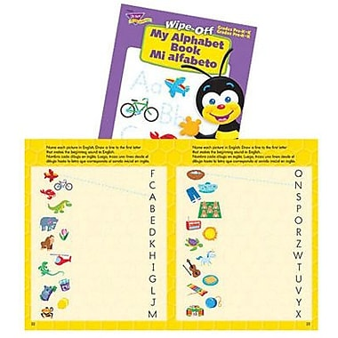 Trend Enterprises® Mi Alfabeto My Alphabet Wipe-Off Book